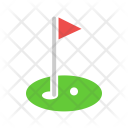Golf Field Course Icon