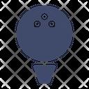 Ball Golf Sport Icon