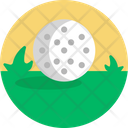 Golf Course Golfing Icon