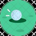Golf Course Golf Ball Icon