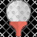 Golf Ball Equipments Icon