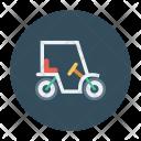 Golf Bike Vehicle Transport Icon