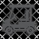 Golf Car Vehicle Icon