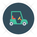 Golf Car Transport Icon