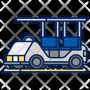 Golf Car Vehicle Transport Icon