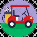 Golf Car Golf Car Icon