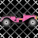 Golf Car Golf Cart Transport Icon
