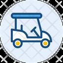 Golf Car Golf Cart Vehicle Icon