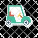 Golf Car Car Transport Icon