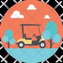 Vehicle Cart Golf Icon