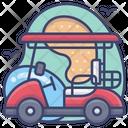 Cart Club Course Icon