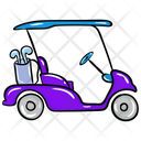 Golf Cart Golf Buggy Golf Car Icon