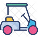 Electric Cart Golf Cart Car Carrier Icon