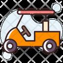 Golf Cart Golf Trolley Golf Car Icon