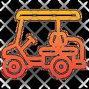 Golf Cart Automobile Golf Icon