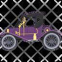 Golf Cart Golf Car Rickshaw Icon