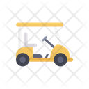 Golf Cart Electric Cart Car Carrier Icon
