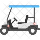 Golf Cart Transportation Icon