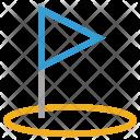Golf Circle Icon