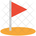 Golf Circle Club Icon