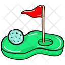 Golf Club Golf Arena Golf Course Icon