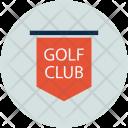 Golf Club Tag Icon