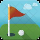 Golf Club Flag Icon