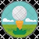 Golf Equipment Icon