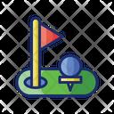 Golf Event Golf Yard Icon