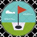 Golf Field Golf Course Golf Club Icon