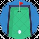 Golf Field Golf Course Icon