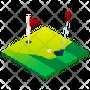 Golf Field Golf Ground Golf Icon