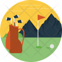 Golf Court Course Icon