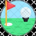 Golf Ensign Golf Flag Golf Pennant Icon