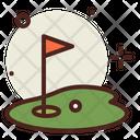 Golf Flag Flag Golf Field Icon