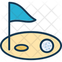 Golf Golf Flag Golf Hole Flag Icon