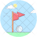 Golf Game Olympic Game Golf Icon