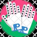 Golf Gloves Accessories Icon