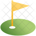Golf Ground Golf Club Sports Icon