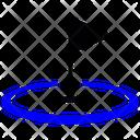 Golf Hole Golf Ball Goal Icon