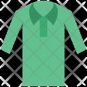 Golf Shirt Polo Icon