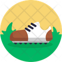 Golf Shoes Foot Wear Icon