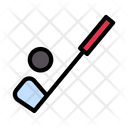 Golf Stick Game Icon
