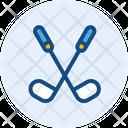 Golf Stick Golf Sport Icon