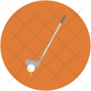 Golf Stick Field Icon