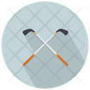 Golf Sticks Icon