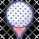 Golf Tee Golf Ball Golfing Icon