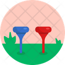 Golf Tee Equipment Icon
