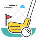 Golfing Icon