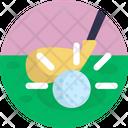 Golf Golfing Golf Stick Icon
